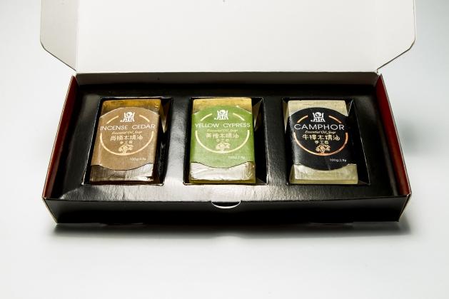 臺灣三寶木典藏禮盒 2